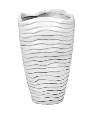 Ceramic Vase, Grey