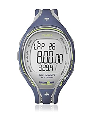 TIMEX Reloj de cuarzo Woman Ironman Sleek 250-Lap Azul 40 mm