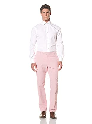 Rota Men's Flat Front Pant (Red)
