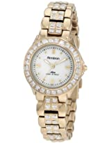 Armitron Women's Gold Stainless Steel Analogue Watch - 753689MPGP