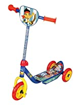 Excel Innovators Three  Wheeler  Scooter - Jack Never Land, Red/Blue
