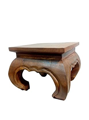 Asian Art Imports Mango Wood Opium Stool