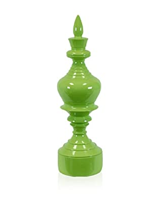 Urban Trends Collection Resin Finial (Green)