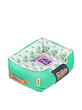 Touchdog Floral-Galore Ultra-Plush Rectangular Designer Dog Bed