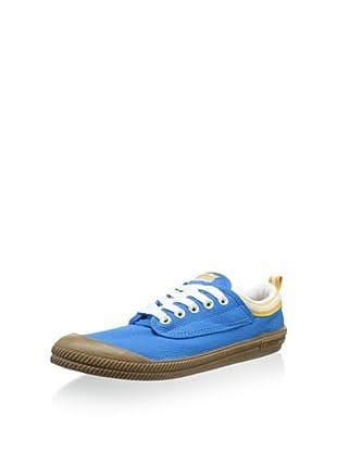 Volley Men's International Low-Top Sneaker (Dresden Blue/Gum)