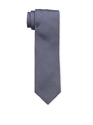 Bruno Piattelli Men's Unsolid Silk Tie, Navy