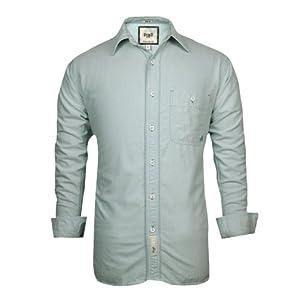 BASICS Plain Slim Fit Shirt - Aqua