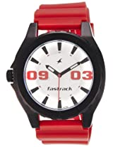 Fastrack OTS Sports Analog White Dial Men's Watch - NE9462AP02J