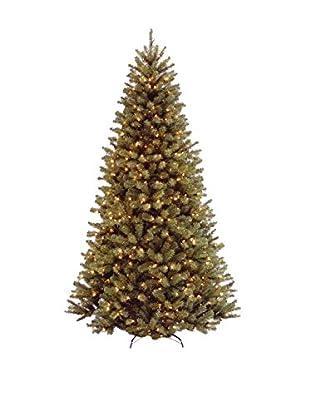 National Tree Company 7.5' North Valley Spruce 550-Light Hinged Tree