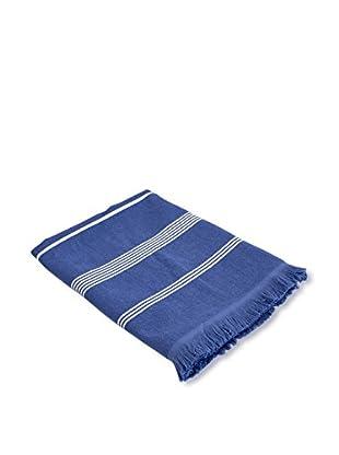 bambeco Coastal Summer Beach Towel, Indigo