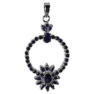 Pearl Paradise Blue Sapphire Pendant