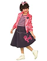 Forum Novelties 50s Poodle Skirt Child Costume, Medium