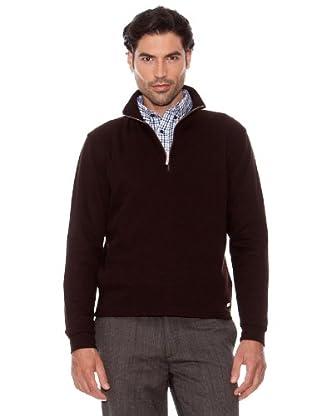 Pedro Del Hierro Jersey Cuello Alto (Marrón Oscuro)