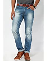 Light Blue Skinny Fit Jeans John Players