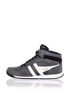 Gola Men's Summit Hi-Top Sneaker (Dark Grey/White)