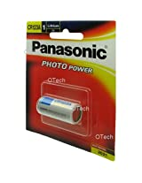Panasonic CR123A Photo Power Lithium battery for cameras