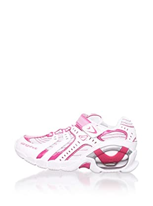 Stride Rite Kid's Slingshot S/O Sneaker (Toddler/Little Kid/Big Kid) (White/ Pink)