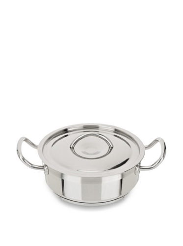 Art & Cuisine Professionnel Series Low Pot with Lid (Stainless Steel)