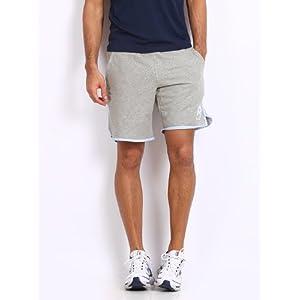Reebok Men's Melange Shorts-Grey
