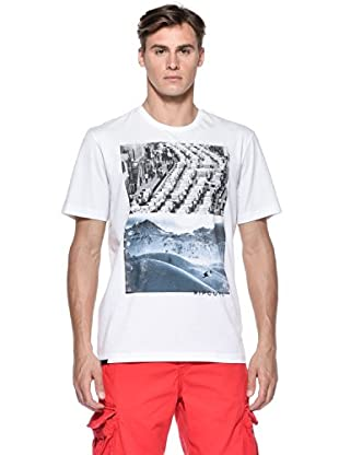 Rip Curl T-Shirt Good Day Bad Day S/S Tee (Bianco)
