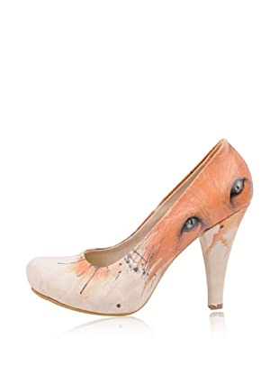 Dogo High Heel The Enigmatic Fox (Creme)
