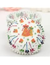 100Pcs Party Cupcake Paper Muffin Cup High Temperature Baking Cup