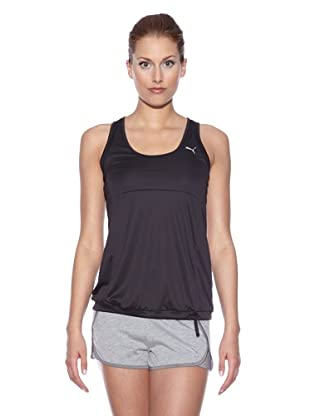 PUMA Trainingstanktop TP Bubble (Schwarz)