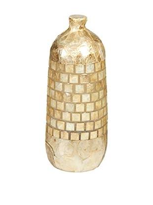Colonial Style Tischlampe Lenka natur