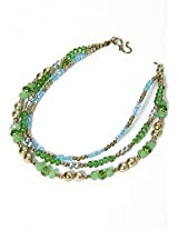 Zurii Multicolor Plastic Anklet for Women