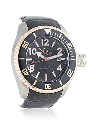 Vip Time Italy Uhr mit Japanischem Quarzuhrwerk VP5031GY_GY grau 50.00  mm