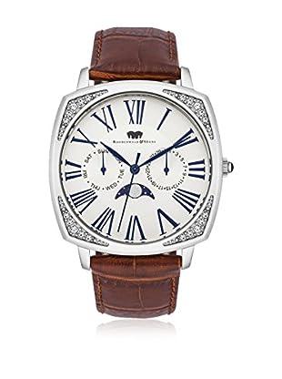 Rhodenwald & Söhne Uhr mit Japanischem Quarzuhrwerk 10010120 braun 38  mm
