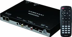 コムテック 2チューナーx2アンテナ車載用 地上デジタルチューナー WGA3500