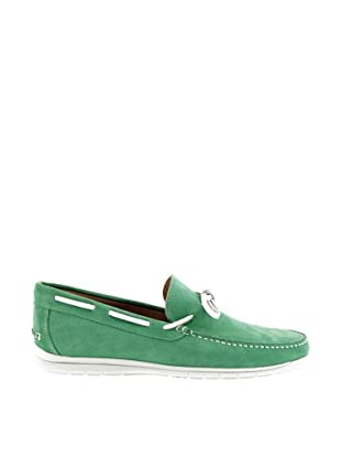 Mile Miglia Mocasines Cordón Hombre (Verde)