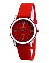 A Avon Red Dial Analogue Watch for Men (1001989)