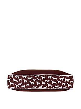 Harry Barker Kennel Club Rectangular Bed, Brown, Small