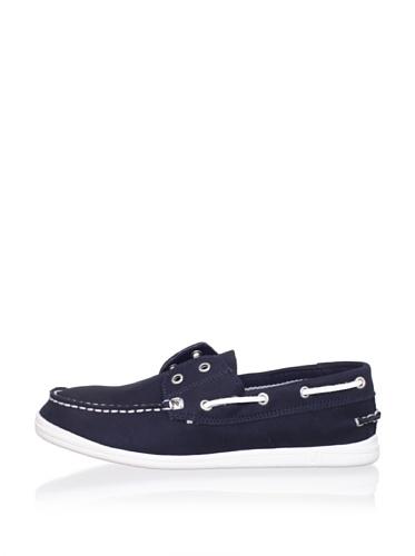Nautica Portsmouth Boat Shoe (Little Kid/Big Kid) (Navy)