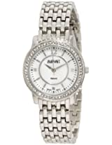 August Steiner Women's ASA827SS Dazzling Diamond Bracelet Watch