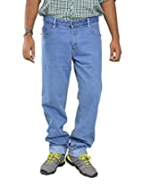 Studio Nexx Men's Denim Jeans (Denim_Lightblue_46 _Light Blue)