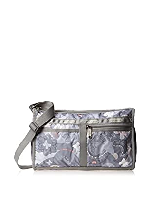 LeSportsac Women's Deluxe Shoulder Satchel, All A Flutter