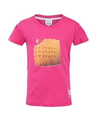 Bench T-Shirt Biscuit (raspberry rose)