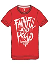 Faithful And Proud Manchester United T-Shirt - L Size
