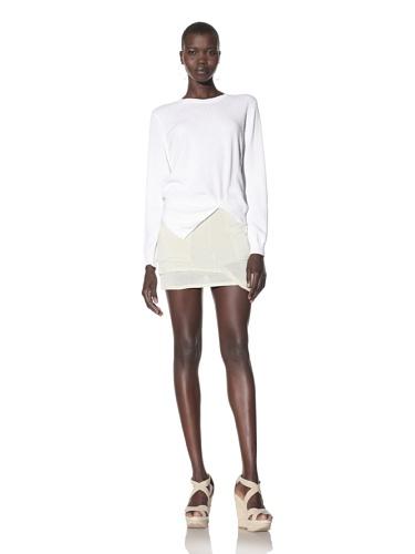 Kimberly Ovitz Women's Arden Sweater (White)