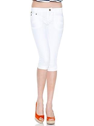 Lois Pantalón Nogal (Blanco)