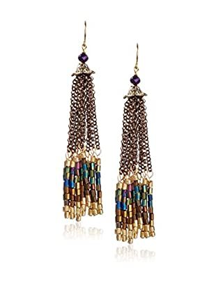 Jardin Women's Beaded Fringe Earrings