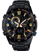 Casio Edifice Chronograph Black Dial Men's Watch - ERA-201RBK-1AVDF(EX213)