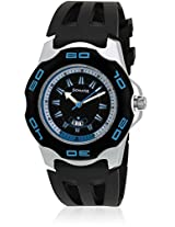 Sonata Super Fibre Analog Black Dial Men's Watch - NF7929PP06J