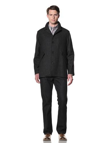 Billy Reid Men's Oslan Coat (Charcoal)