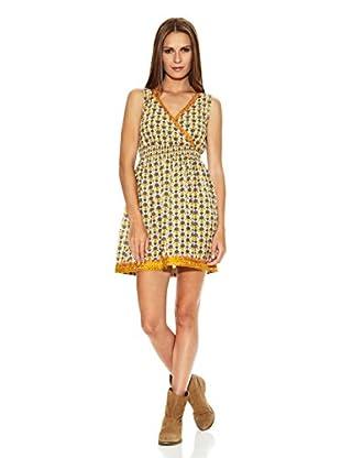YHOSS Vestido (Amarillo / Verde)