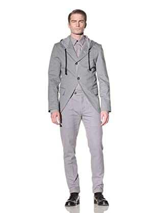 Ann Demeulemeester Men's Hooded Jacket