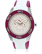 Pu102982004U White/Purple Analog Watch